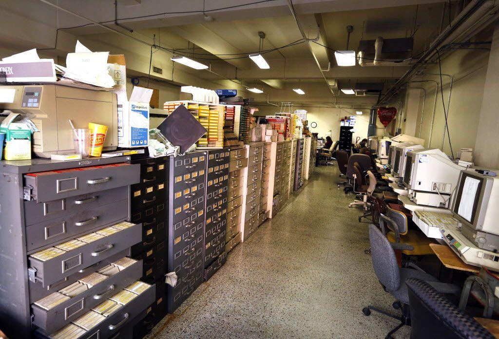 Dallas County Clerk John Warren blames the clutter in Records - courtesy clerk
