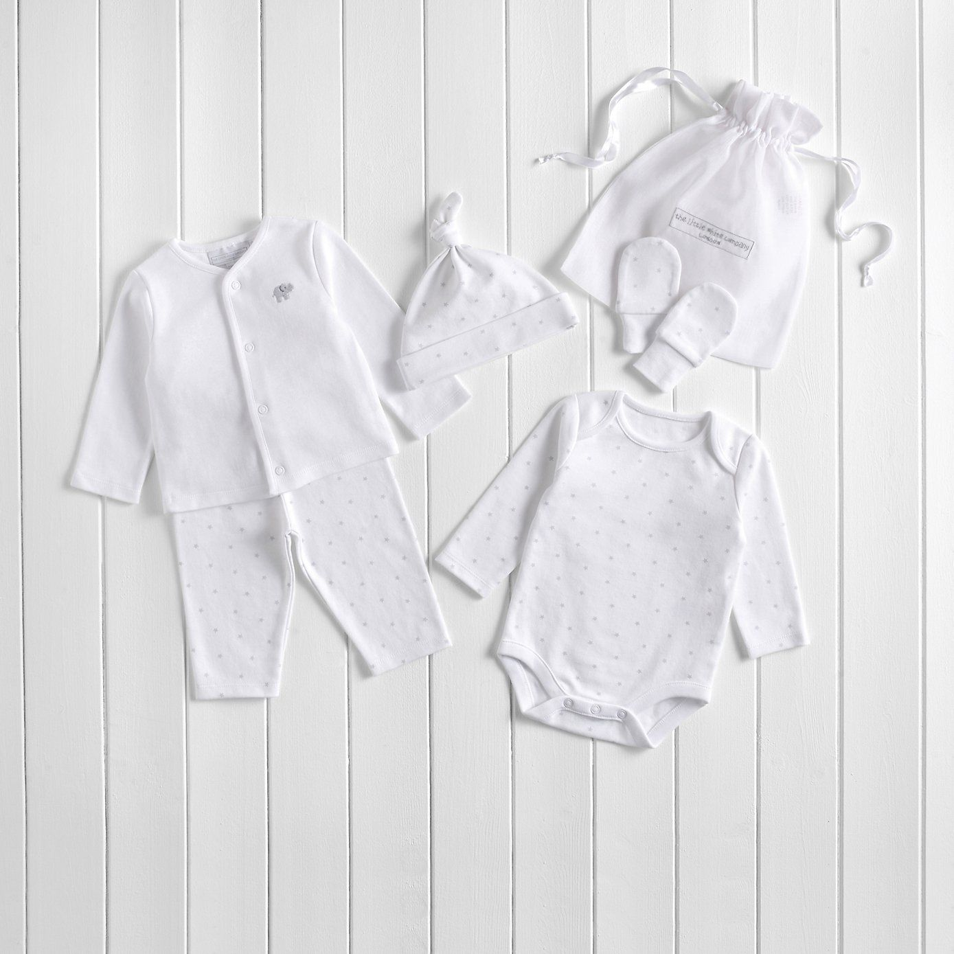 Elephant star baby gift set the white company baby boy elephant star baby gift set the white company negle Images