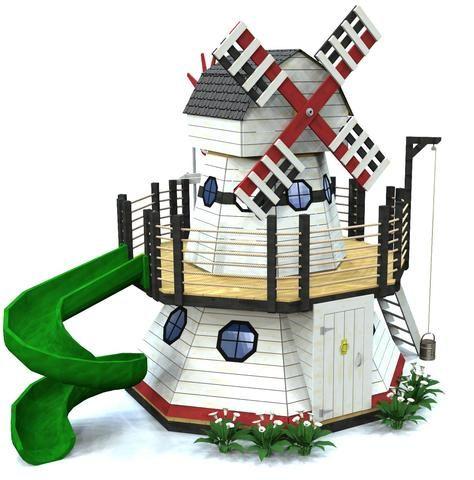 Paul's Playhouse Smock Windmill Playhouse