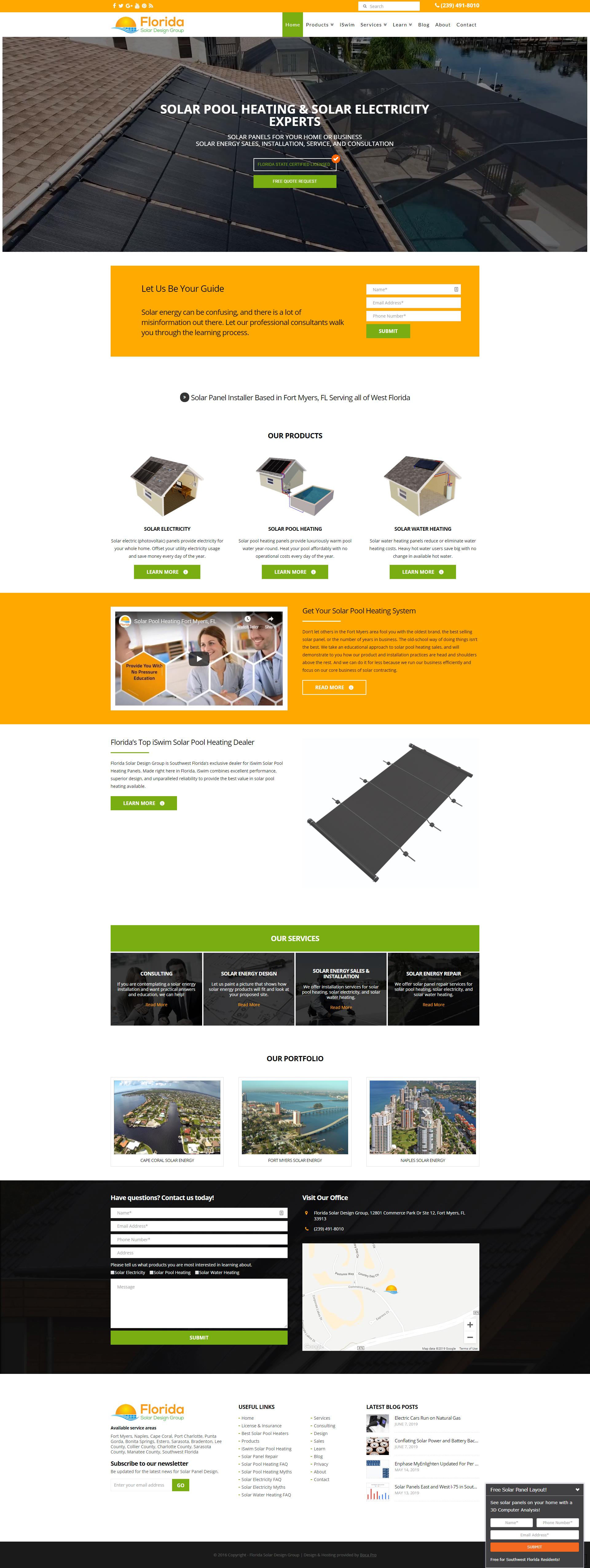 Best Solar Energy Websites 20 Inspirational Examples Dotcom Global Media Website Design Blog Solar Energy Facts What Is Solar Energy Solar Energy For Kids