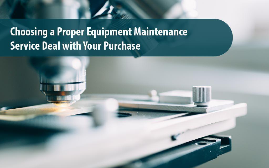 Choosing A Proper Equipment Maintenance Service Deal With