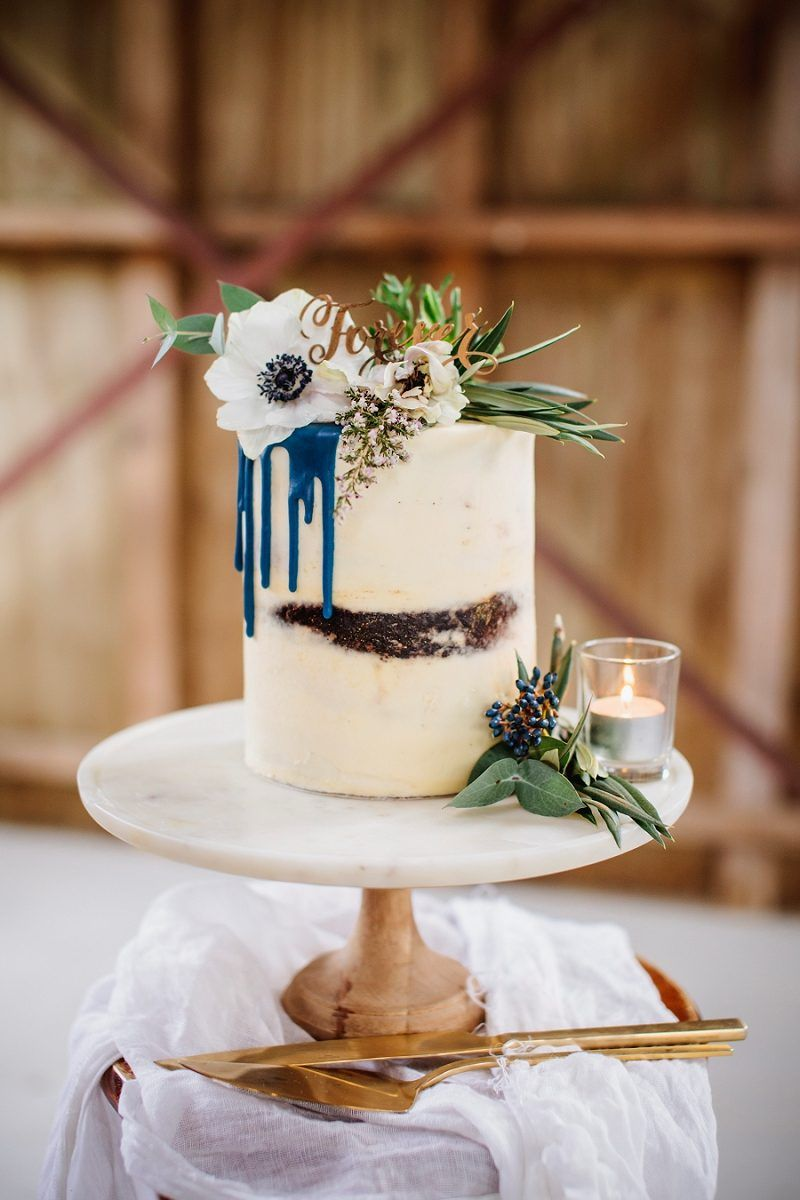 modern rustic chic wedding inspiration (with a killer cake