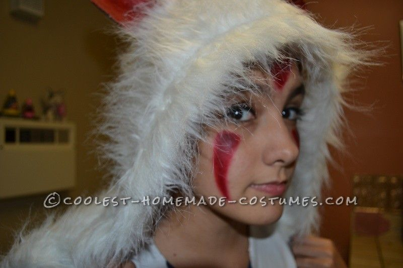 Creative Princess Mononoke Homemade Costume... This website is the Pinterest of costumes