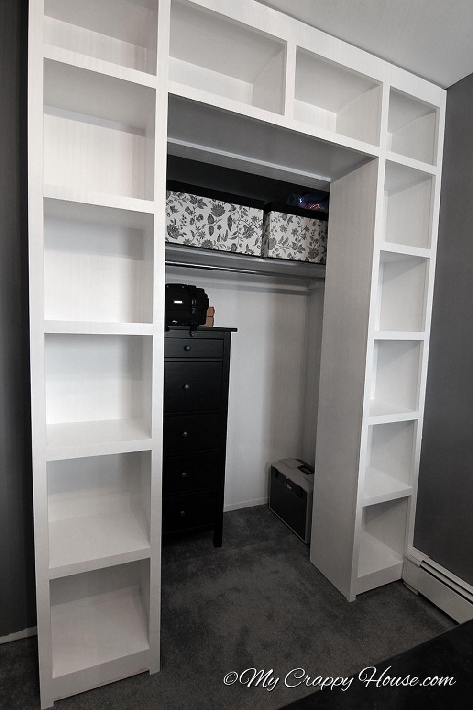 71 Easy And Affordable Diy Wood Closet Shelves Ideas Organiser
