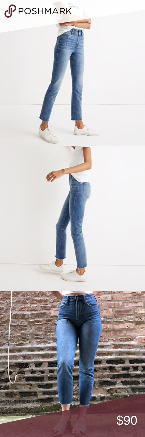 """2cf4f71a17 Madewell """"Perfect Vintage Jean"""" Comfort Stretch """"The Perfect Vintage Jean"""" Comfort  Stretch"""