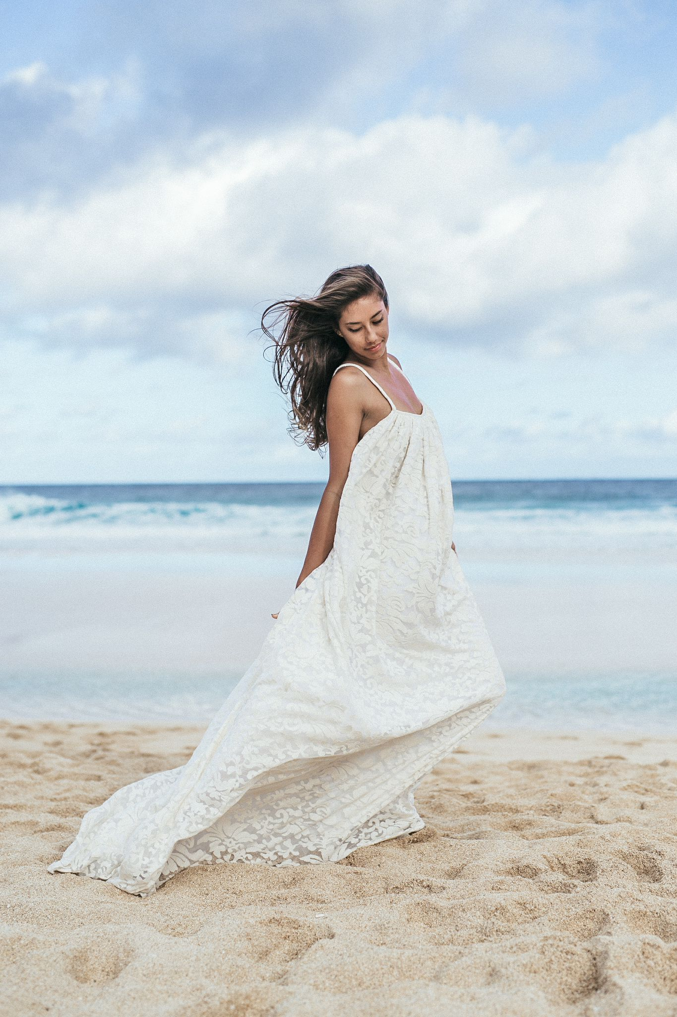 Traditional hawaiian wedding dress  This is my new MALIA gown Its perfect for the chic and different