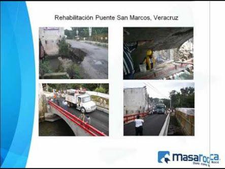 Reconstrucción , Remodelación, Impermeabilización. Puente San Marcos Veracurz. INAH MASAROCA