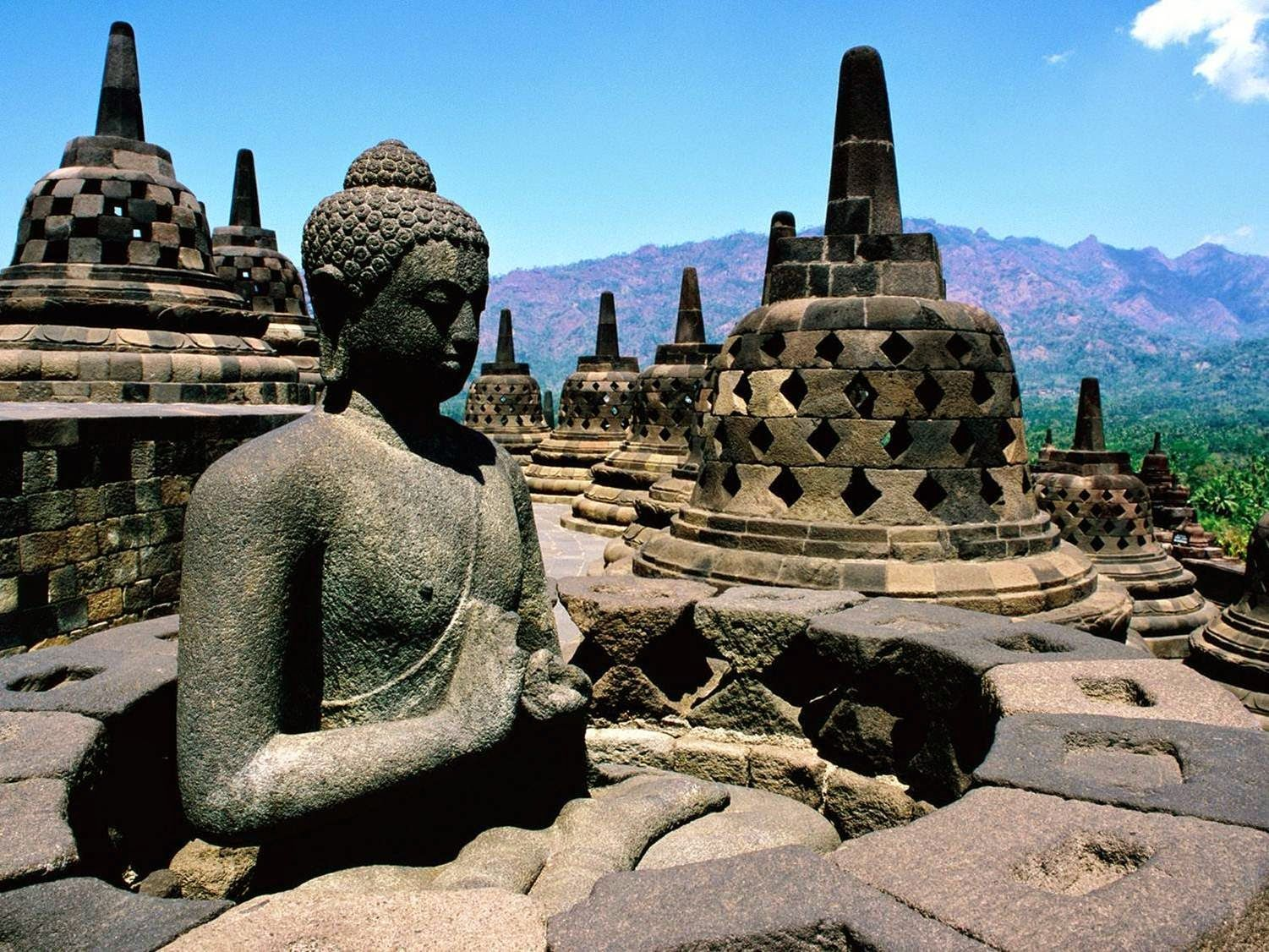 Image result for mysterious borobudur