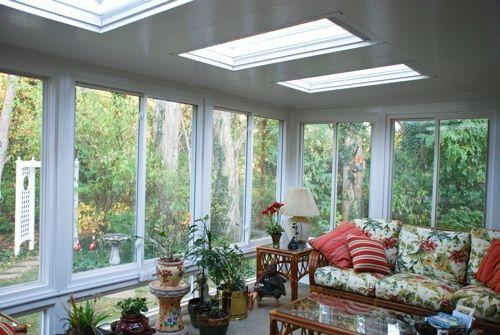 Interior View. Screened PorchesSunroomSunroomsBack PorchesTanning Bed