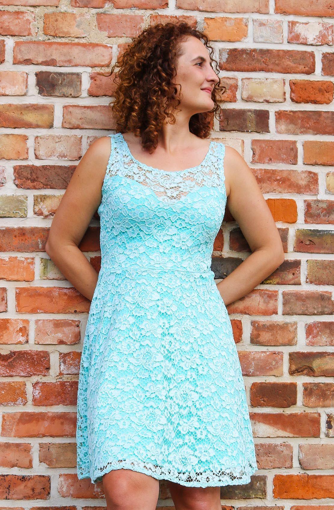 Kleid aus Spitze für eine Hochzeit nähen - Ella von Pattydoo Trends