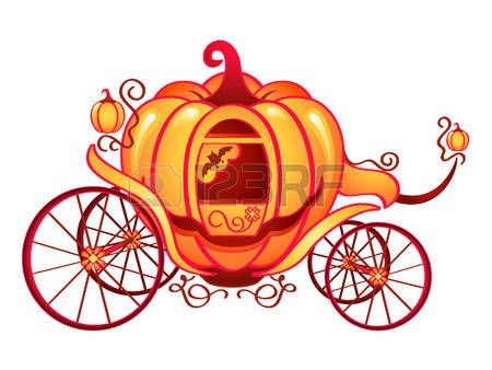Cendrillon potiron carrosse de cendrillon ou halloween - Cendrillon et son carrosse ...
