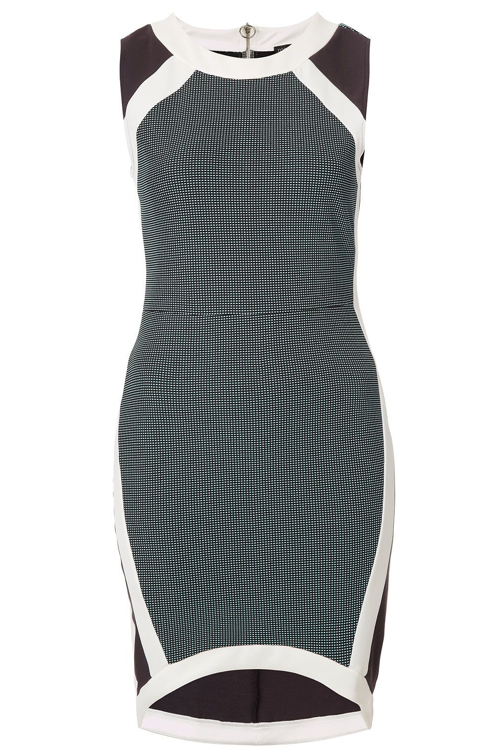 Mixed Texture Bodycon Dress - Going Out Dresses - Dresses - Clothing ...