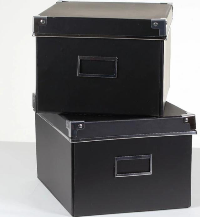 Lot De Boite Cubique Boite En Carton Boite De Rangement Carton Gris