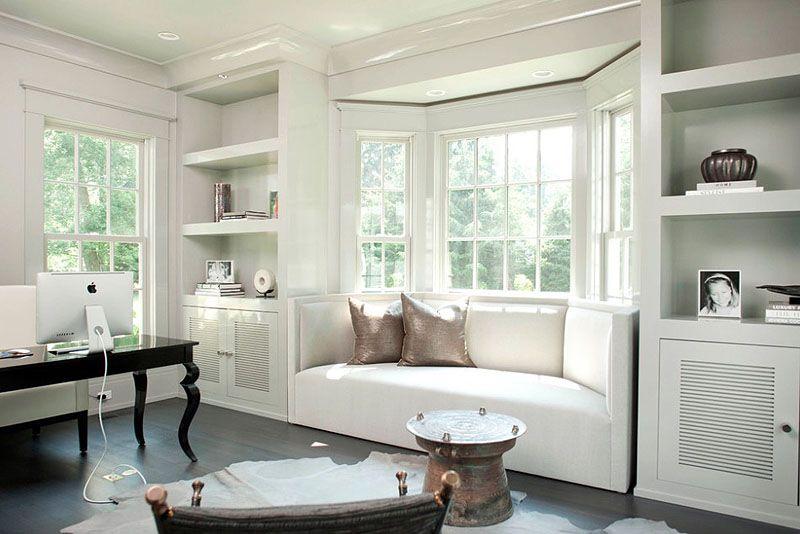Contemporary Bay Window Ideas Freshome Bedroom Window Seat