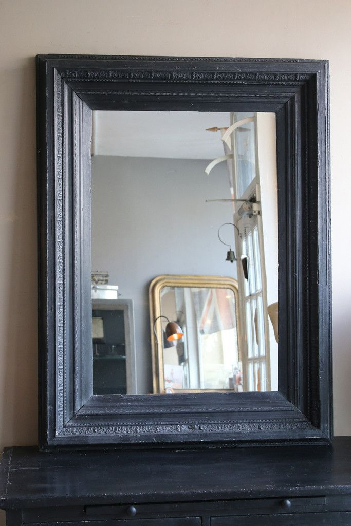 Vintage Black Mirror | Pinterest | Vintage black, Paint mirror ...