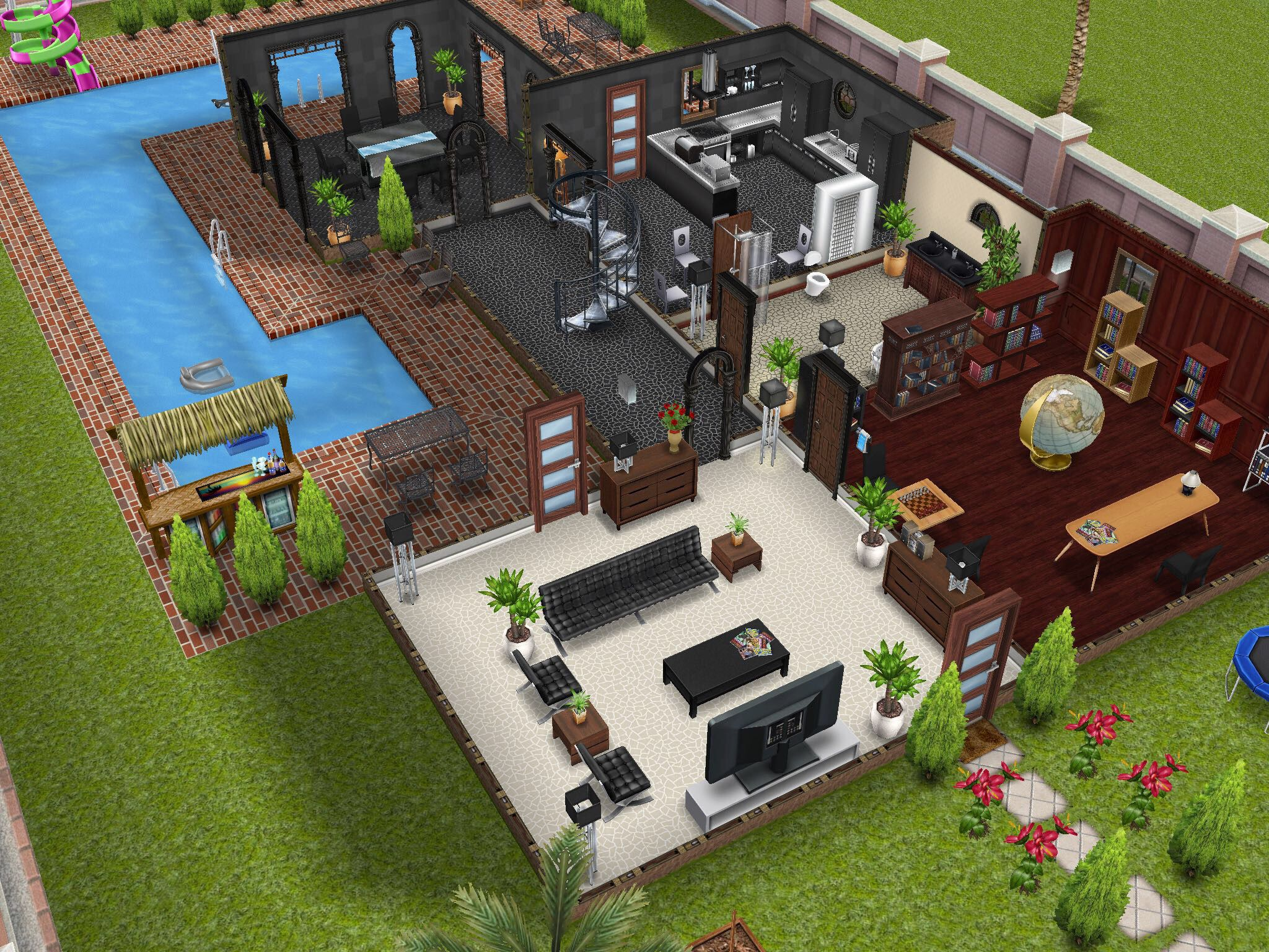 Pin On Sims Freeplay Design Ideas