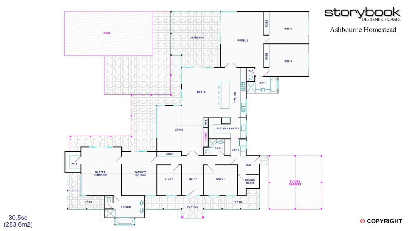 Storybook - Single Storey Design | Acreage plans | Pinterest