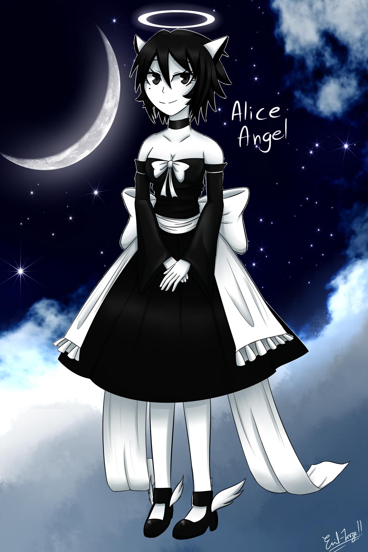 Human Art Angel Alice Fan