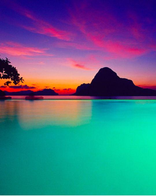 a stunning collection of sunsets around the world