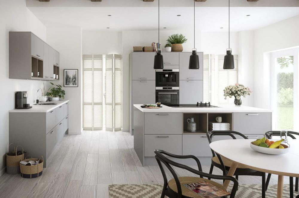 Nova Matt Grey in 2020 Kitchen remodel, Kitchen