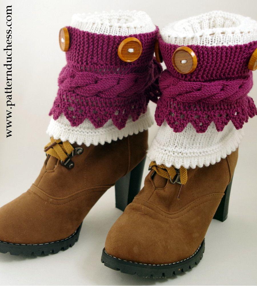 Pattern duchess free boot cuffs knitting pattern with buttons and pattern duchess free boot cuffs knitting pattern with buttons and lace bankloansurffo Choice Image