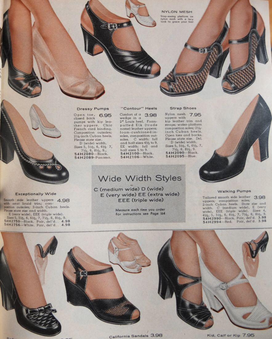 f8b93531a77 vintage shoe catalog