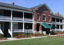 Photo of main lodging entrance