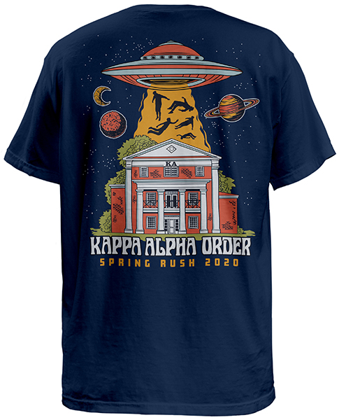 Order Fraternity Rush Shirts for your Chapter Greek T
