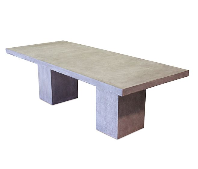 solid and study with smooth concrete finish perfect for outdoor