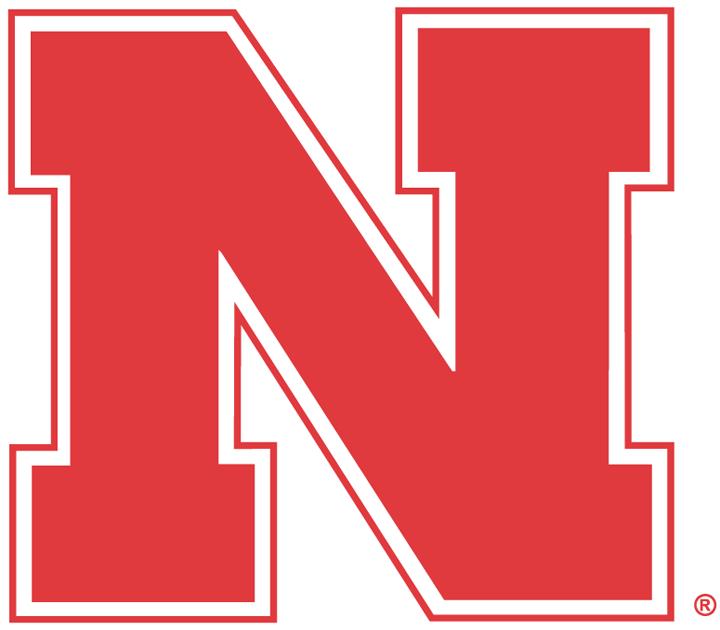 Nebraska Cornhuskers Primary Logo 0 Block Red N Nebraska Cornhuskers Football Nebraska Cornhuskers Cornhuskers