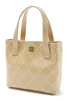 chanel-biege-quilted-leather-wild-stitch-small-tote-bag