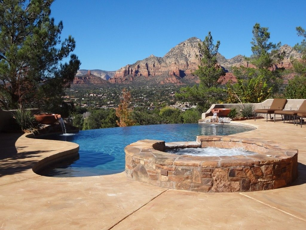 Superieur Sedona House Rental: Pool..spa..heated..views.
