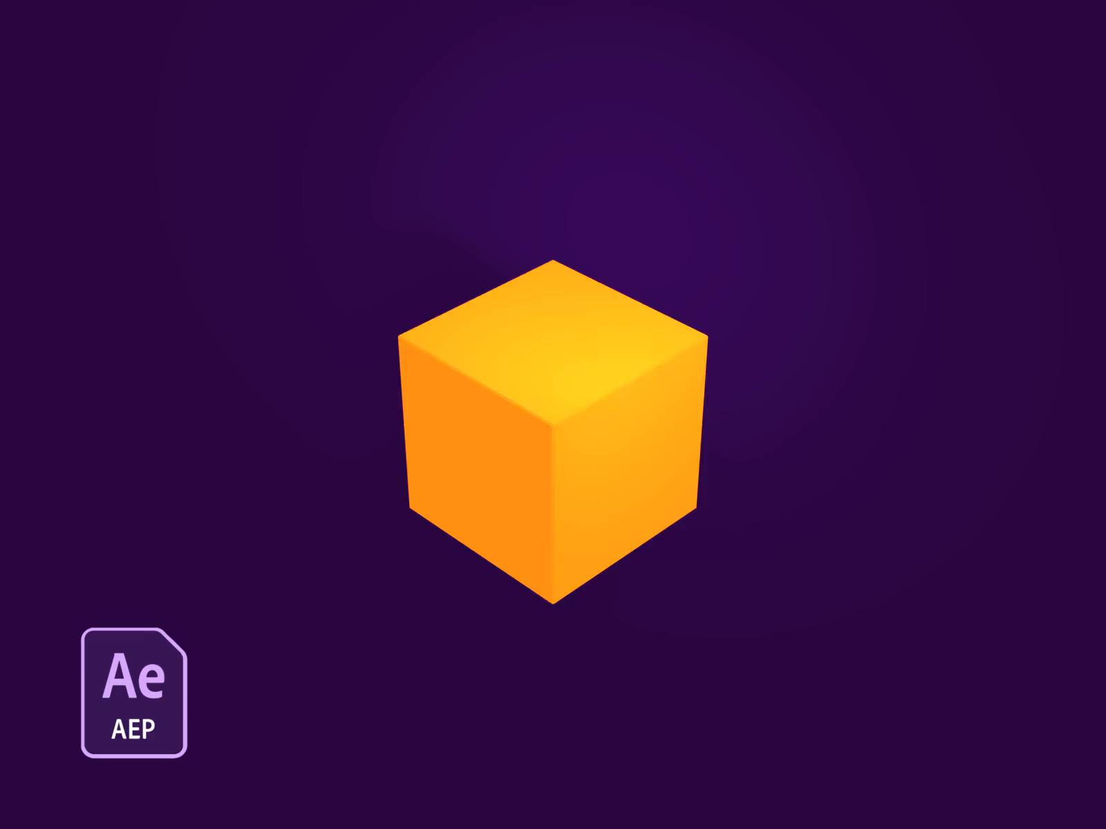 3d Cube Loader Jellyfish Freebie 3d Cube Cube Freebie