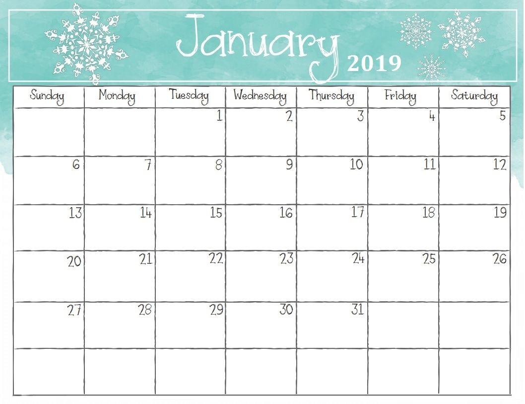 January 2019 Calendar Canada Calendar Printables 2019 Calendar