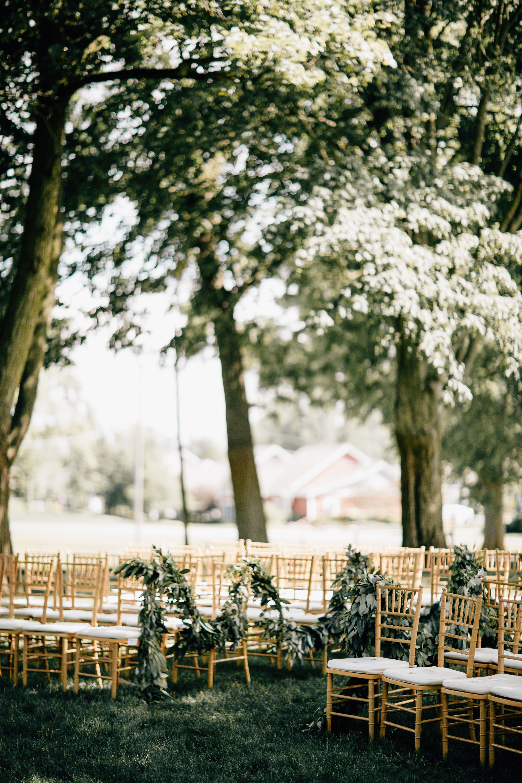 Farmhouse wedding at Zingerman's Cornman Farms. Photo by