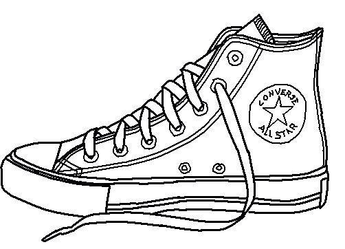 Sneaker Art Sapato Converse Desenhos De Sapatos Arte Em Tenis