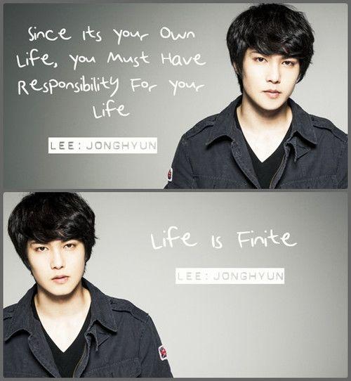 lee jong hyun biography for kids