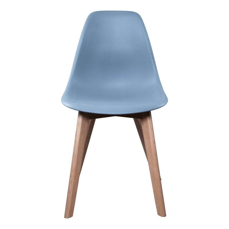43 99 Chaise Scandinave Gris Clair Mediation