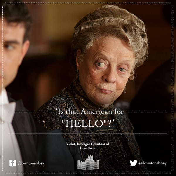 Downton Abbey, Season 4. Not one single PTSD-inducing episode! Well done, DA, well done.