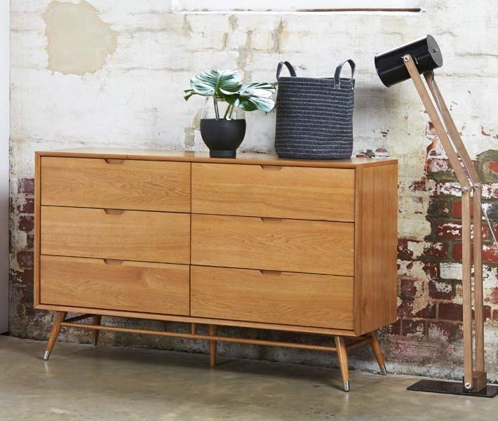 The Betty Midcentury Modern Dresser From Bedshed