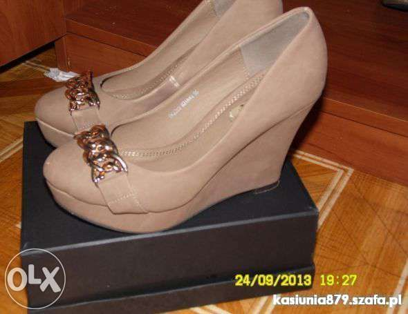 Koturny Damskie W Szafa Pl Buty Na Koturnie Hit Sezonu Shoes Fashion Wedges