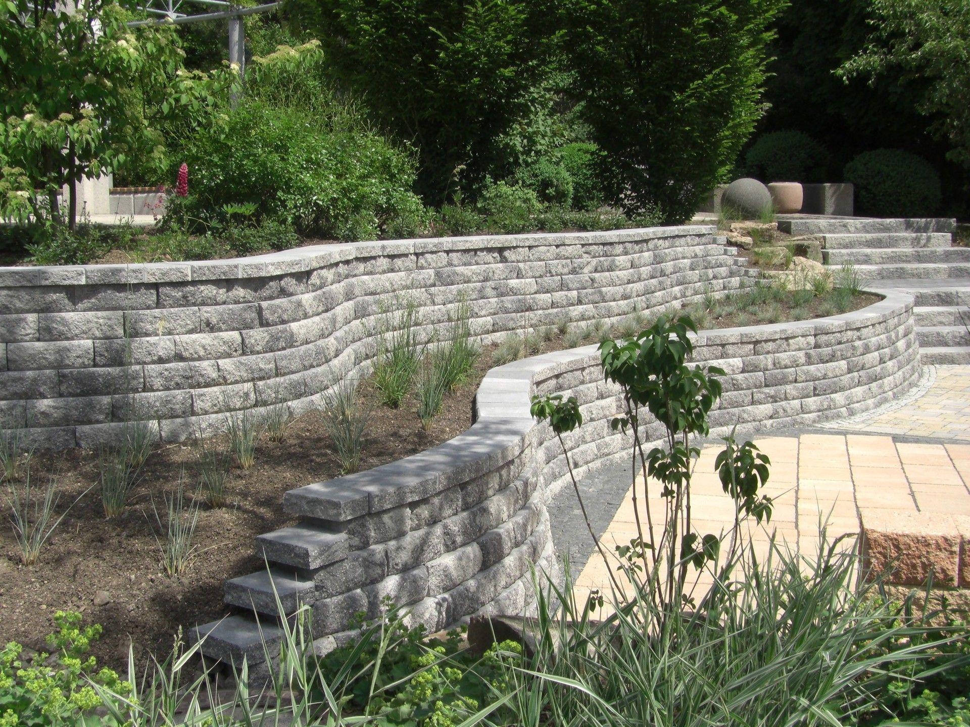 Gartenmauer Pflanzsteine und andere Möglichkeiten der Abgrenzung