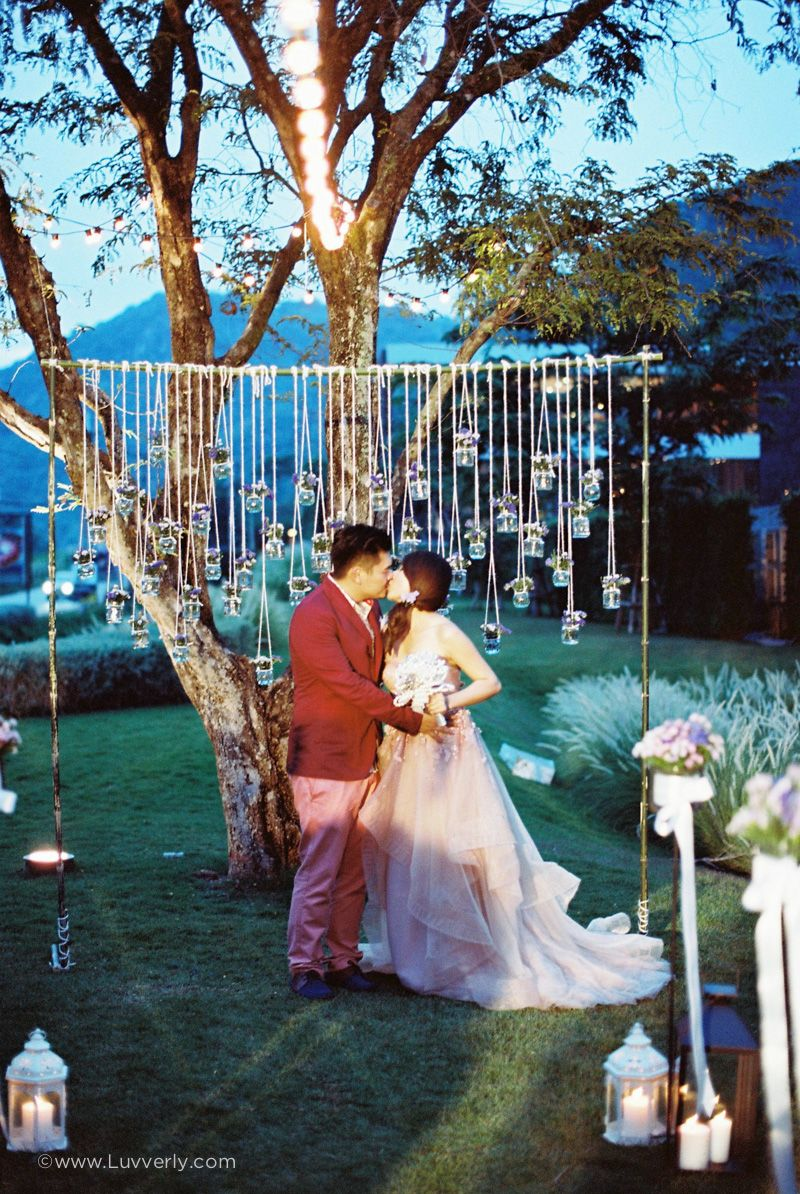 A Romantic Destination Outdoor Wedding In Khao Yai From Luvverly