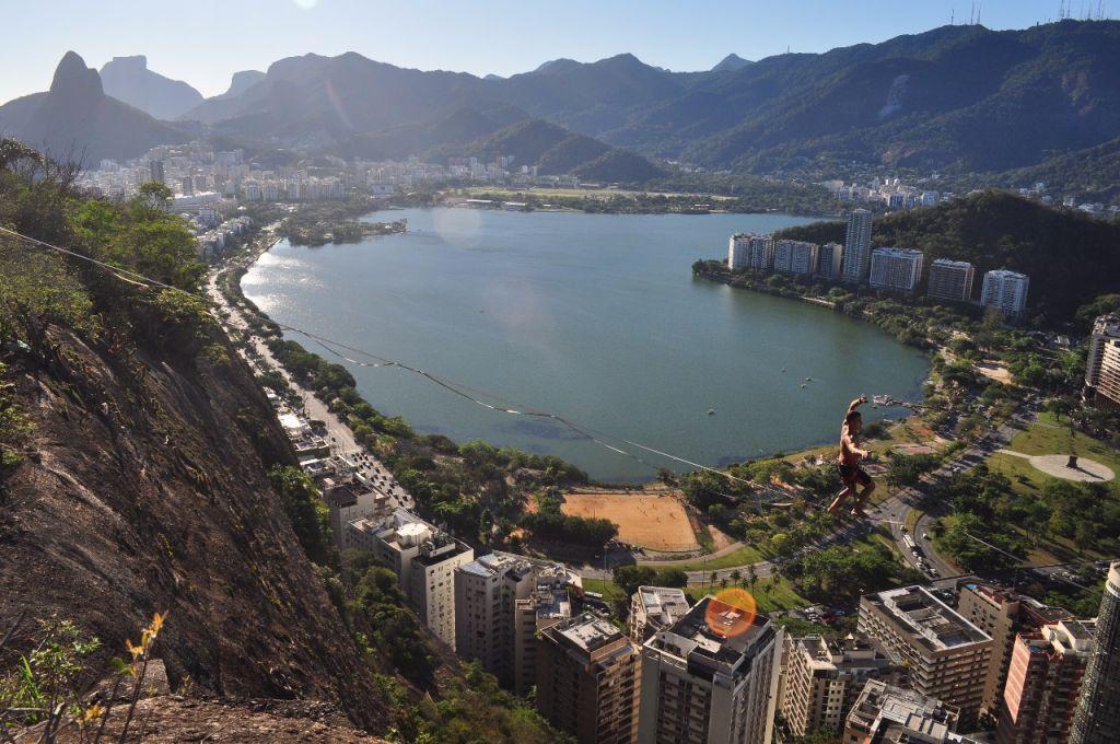 Highline No Morro Do Cantagalo Rio De Janeiro Rio De Janeiro