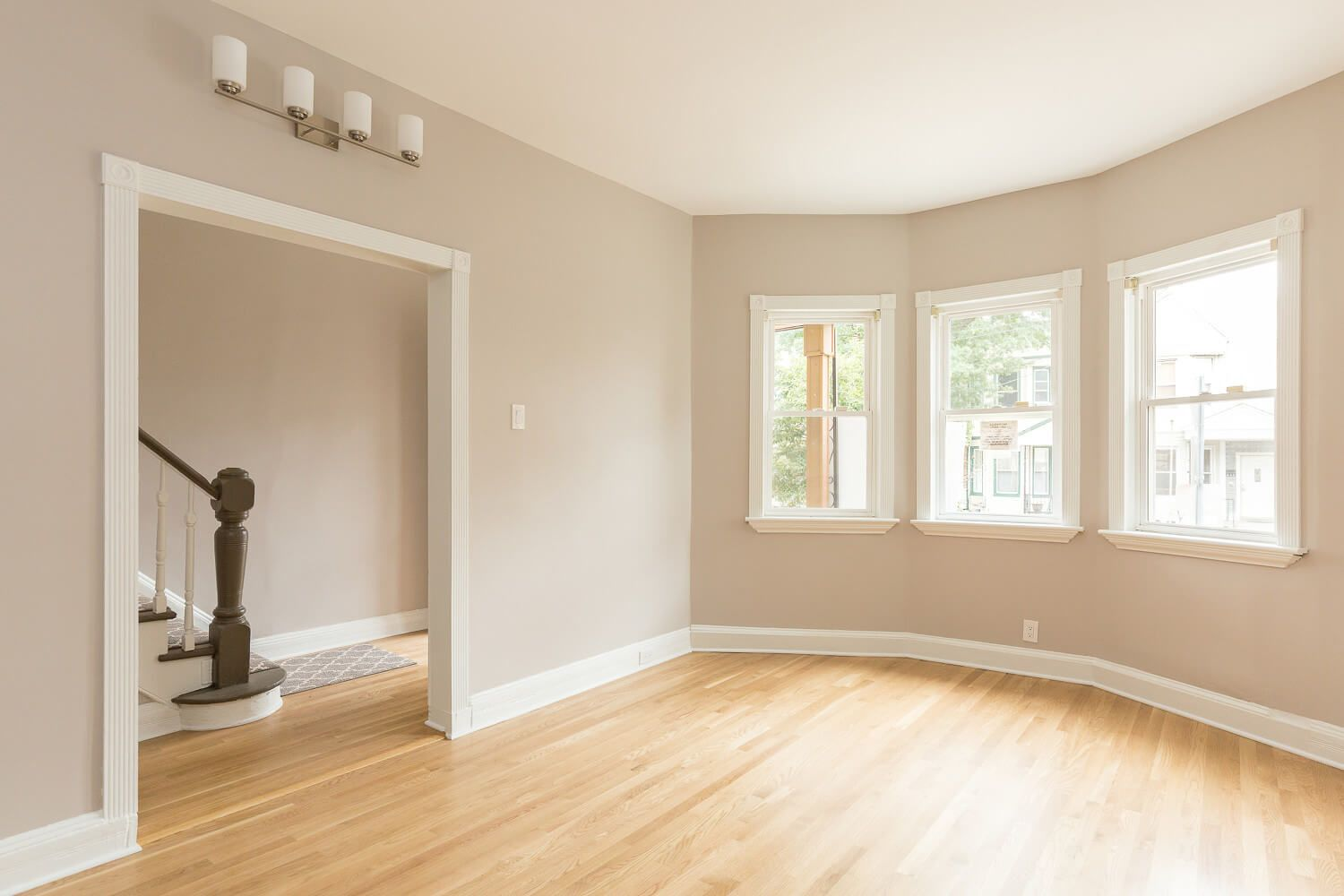 jersey city heights. post-fire townhouse renovation. interior design