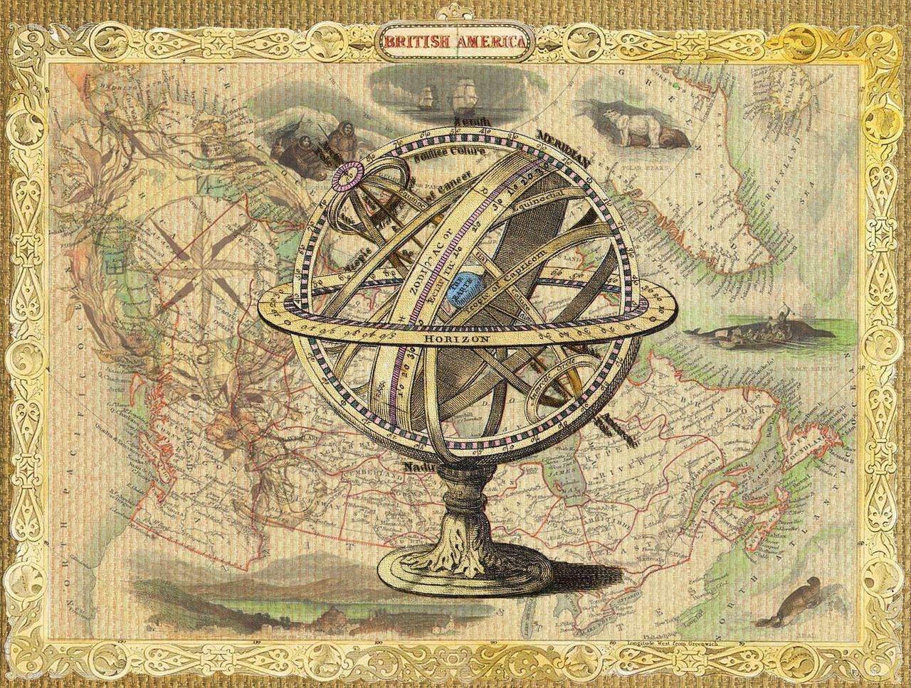 картинки для декупажа старинные карты пшеничной