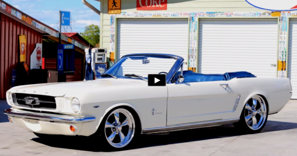 Fabulous 1965 Ford Mustang Convertible Resto Mod Ford