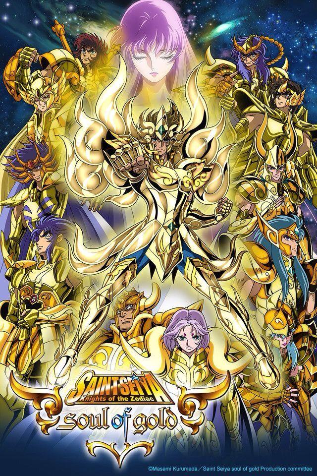 Saint Seiya Soul of Gold Saint seiya, Animasi, Desain