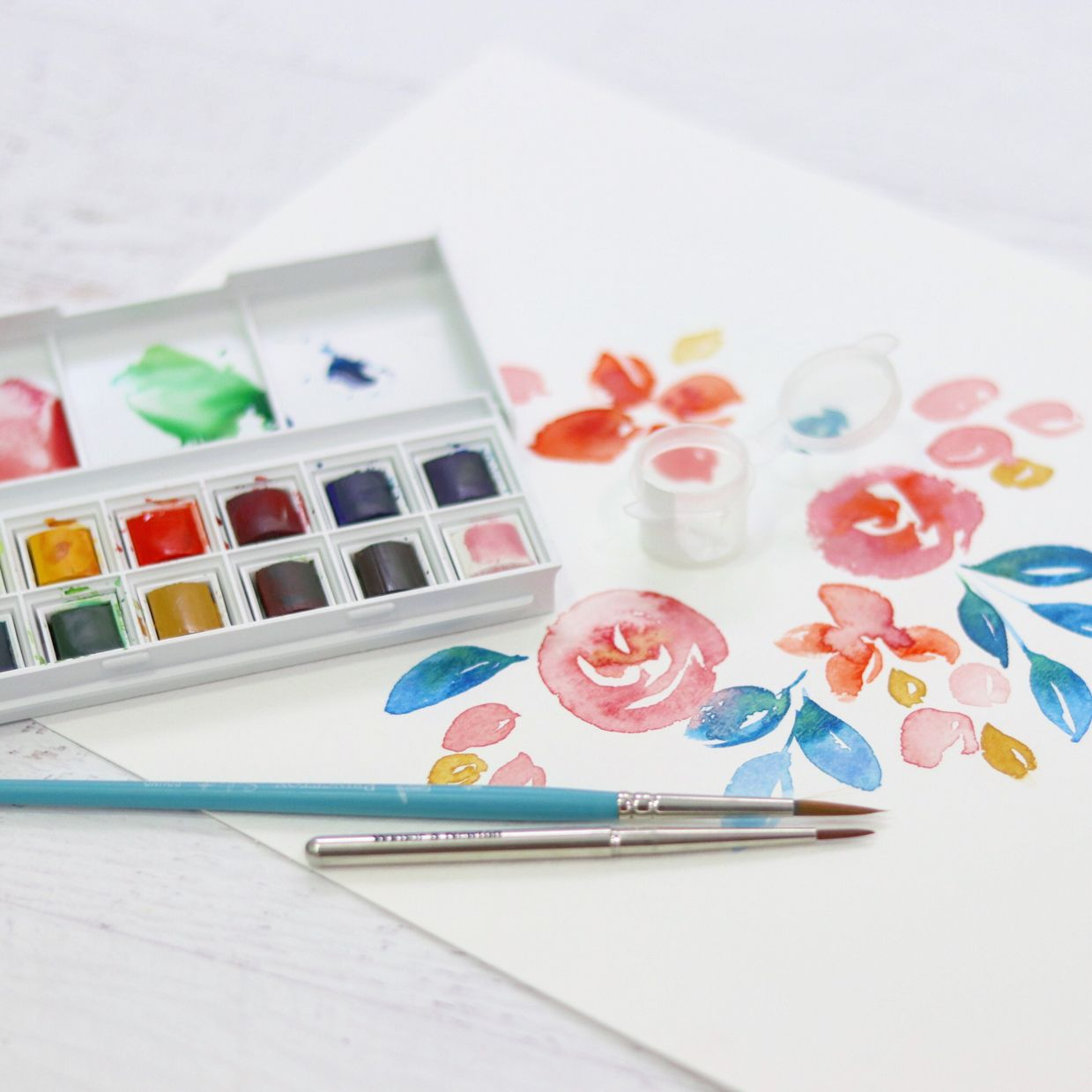 Our Newest Watercolor Confections Palette Vintage Pastel Is Here