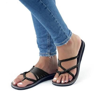 c9cbefdfc65 Plus Size High Quality Flip Flops Cute Beach Slippers